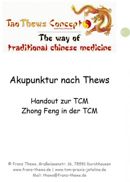 Zhong Feng / Apoplex in der TCM - Handout