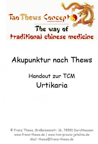 Urtikaria in der TCM - Handout