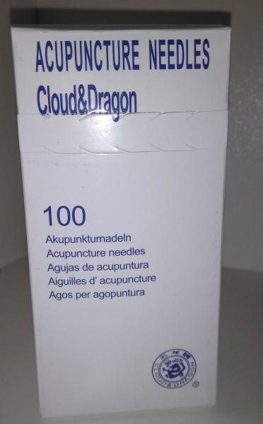 Akupunkturnadeln, Cloud & Dragon, 0,3 X 50