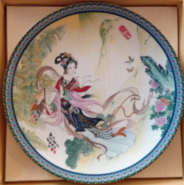 Chinesischer Wandteller Sammelteller VI